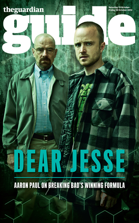 guardian:  guardianguide:  It's Jesse Pinkman, yo!  Watch out for tomorrow's guide. Nick jackets!