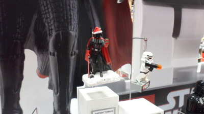 Holiday season SANTA VADAR. Seen on the floor at the HALLMARK booth at this year's NYCC. #StarWars #IWantToForceHugYou