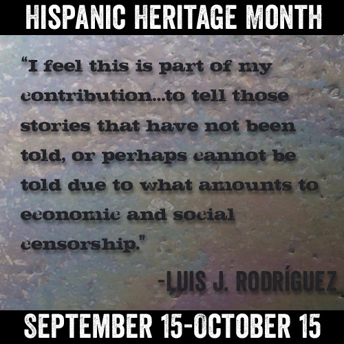 Luis J. Rodríguez, poet, journalist, memoirist, author of Always Running