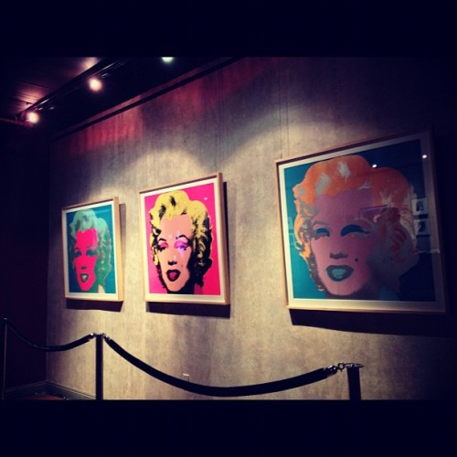 Day 283 of 366 #warhol at the #cityofhope gala honouring #benmalka #losangeles #downtown #exchangeLA #art #marilynmonroe #instagood #instagram #instamood #instagrammers #igdaily #igers #photootd #photooftheday #project366  (Taken with Instagram)