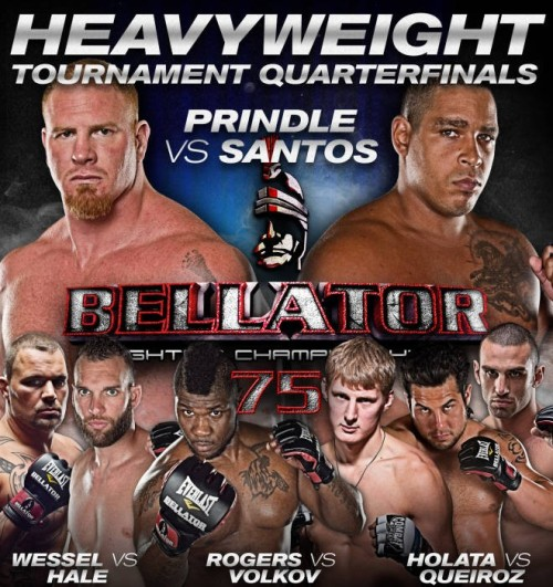 Catch the replay of Bellator 75 on MTV2 right now