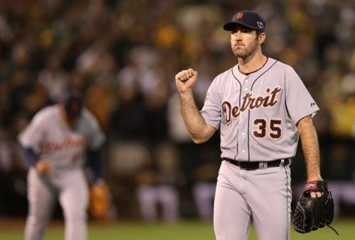 Justin Verlander's 11 K's carry Tigers past A's, into ALCS