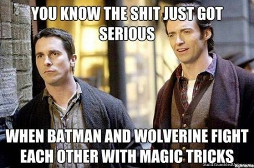 watched The Prestige today for film class…. hmmm….