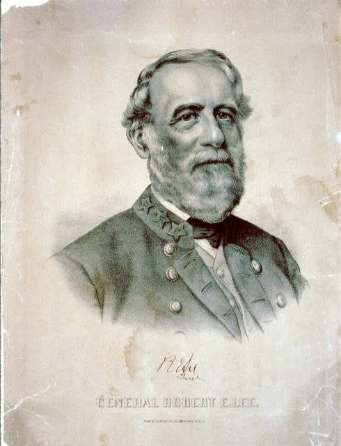 October 12, 1870: Robert E. Lee Dies On this day in 1870, the commander of the Confederate Army of Northern Virginia, General Robert E. Lee, died peacefully at his home at the age of 63. When the Civil War began in 1861, Lee sided with the Confederacy and assumed command of the Army of Northern Virginia the following year. Lee became known for his strategic war tactics and strong leadership on the battlefield. In 1865, however, Lee surrendered his army at Appomattox Court House, Virginia. To learn more about the life of this central character of the Civil War, explore this American Experience Robert E. Lee photo gallery, which exhibits Lee's life from childhood to famous general. Photo: Library of Congress