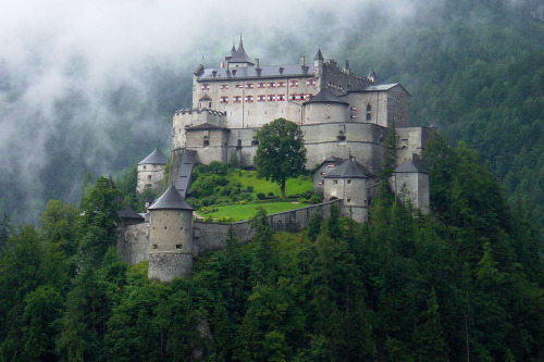 allthingseurope:  Hohenwerfen Castle, Austria (by daphot75)  …Can I just go be a governess there?
