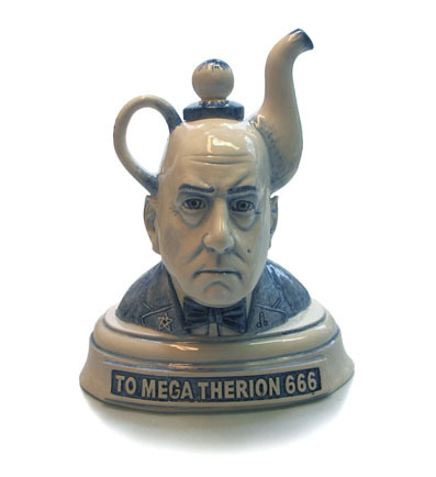 Merry Crowleymass!! (teapot by Charles Krafft)