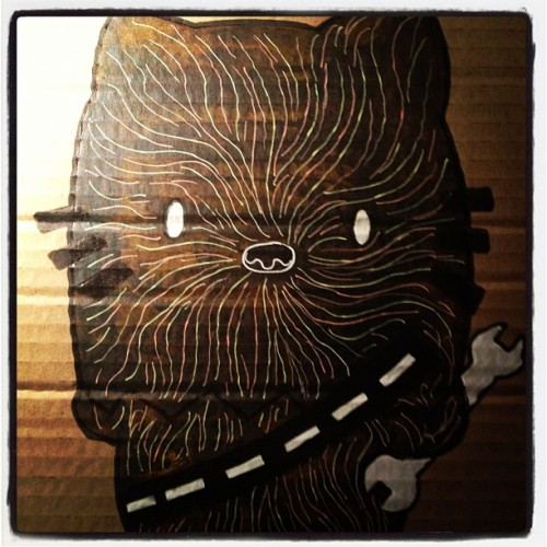 Hello Chewie (Taken with Instagram)