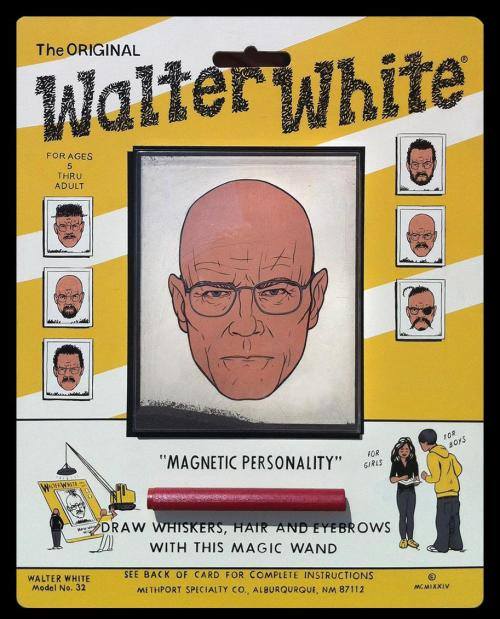 Wooly Walter White via thiefence
