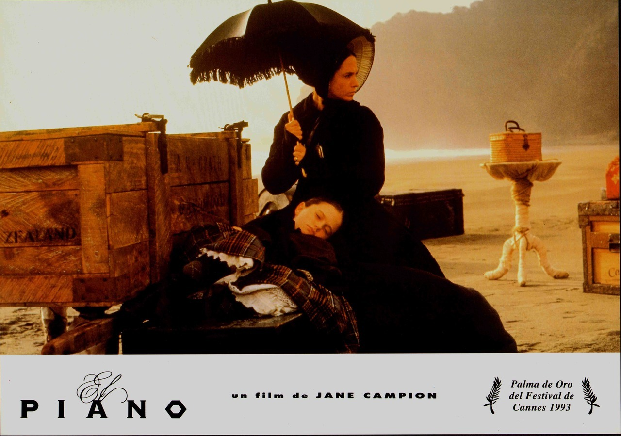 The Piano, Spanish lobby card. 1993 Submitted by Ricardo
