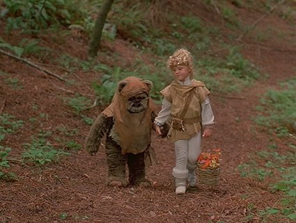 "Gatherer[""Cindel Towani,"" Ewoks: The Battle for Endor, 1985]"