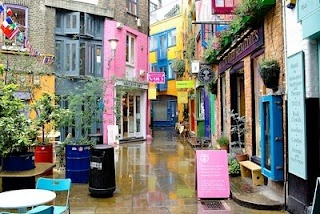 Neals Yard in London - bohemian, intimate and oh, so full of character. (via)