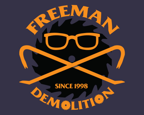 """Freeman Demolition"" has recently been launched at Teelaunch! Nab one of 15 reservation spots. $18 plus shipping gets you this awesome half-life shirt if it is fully funded! No risk, if it doesn't reach it's goal, no transaction is made."