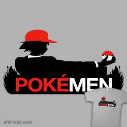 shirtoid:  PokéMen available at Redbubble