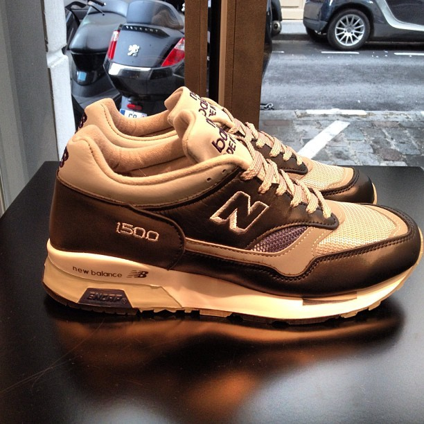 Just arrived NEW BALANCE 1500 made in England.  #colette #colettestore #newbalance (Pris avec Instagram)