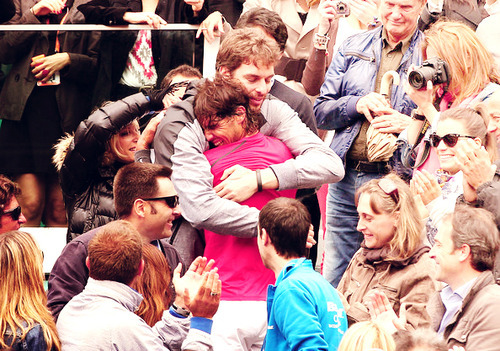 Roland-Garros 2012.  Best memories of this year. I love you Rafa ♥