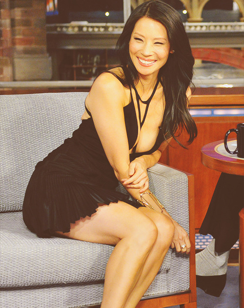 Lucy Liu | 'The Late Show With David Letterman' [October 11th,2012]
