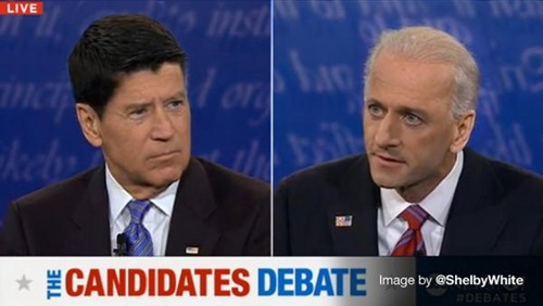 thedailywhat:  VP Debate Hair Switch of the Day: Ew. [biotv]  LOL.