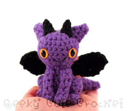 Just listed this purple dragon in my shop.