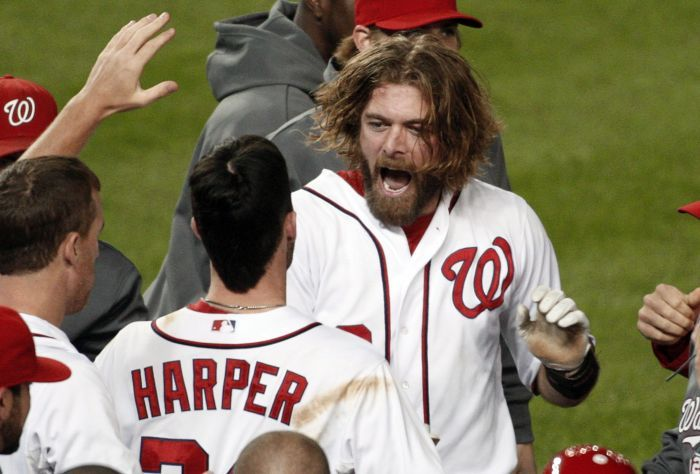 Jayson Werth delivers for the Nationals.