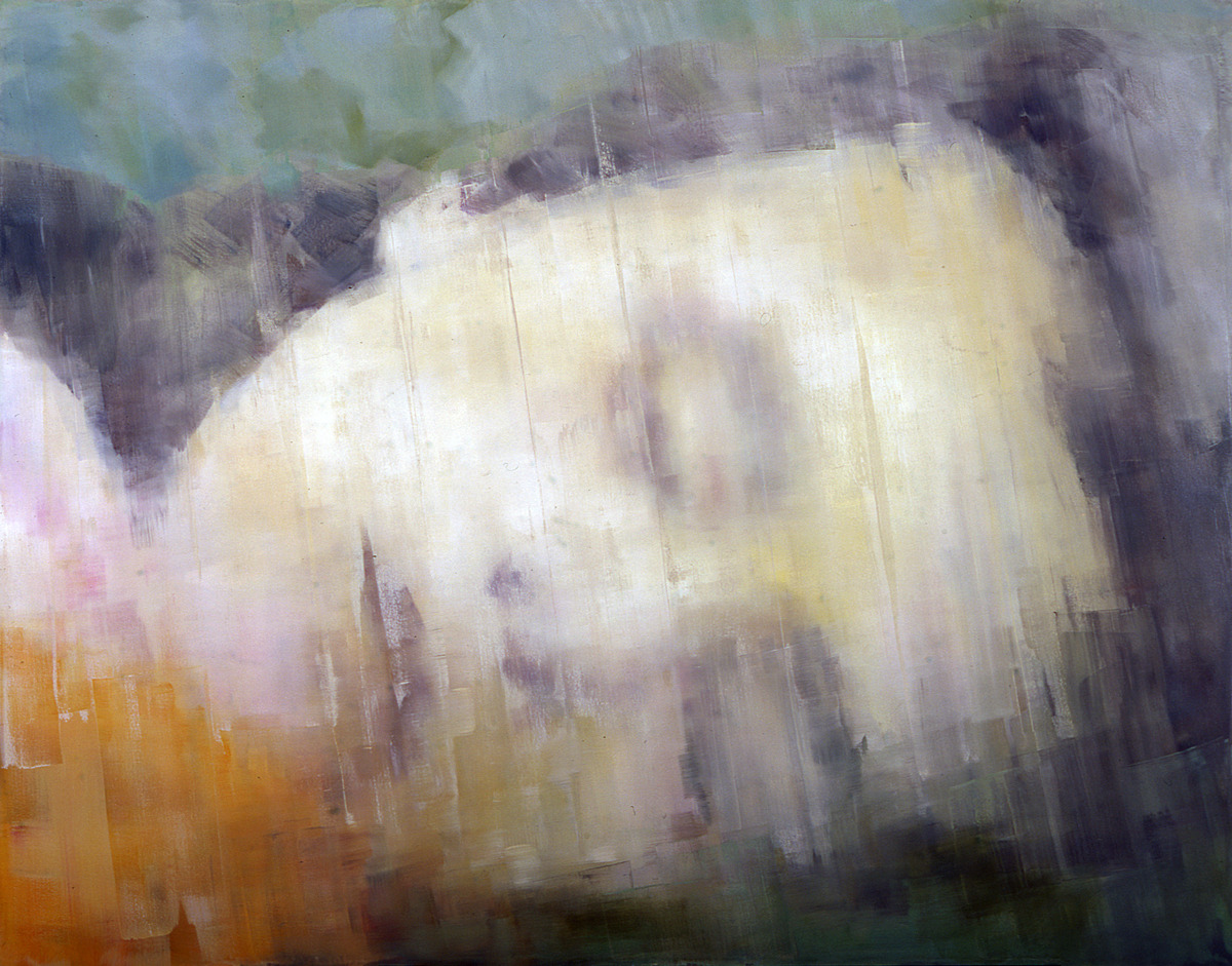 hardingmeyer:  an early work of the year 2001 ° oil on canvas 170x220cm °