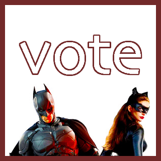 GO VOTE FOR BRUCE/SELINA!!!  Voting ends 10/14. ETA: Read this!  How can you NOT vote for Selina/Bruce!? XD