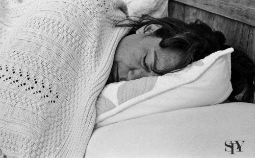 Long days at the beach are exhausting! Shot on Ilford FP4 with the Cannon TX