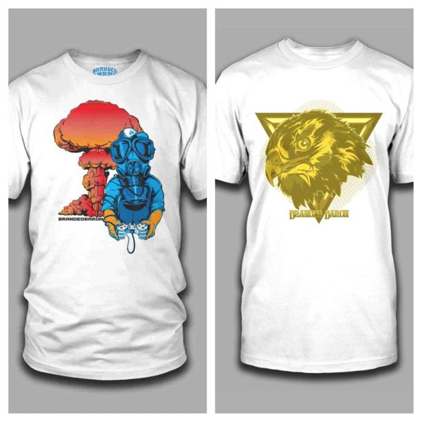 Gamer 2.0 & Hawk tees now available at brandedbaron.com #brandedbaron #gamer #playstation #hawk #fly #flyboi #art #graphicdesign #illustration #videogames #boom #herecomestheboom #picstitch (Taken with Instagram)