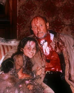 dixienormas86:  Set of Halloween 5: Donald Pleasence and Danielle Harris