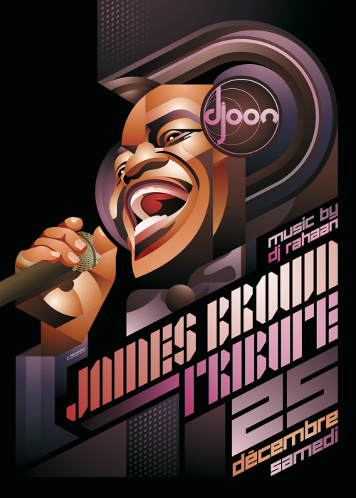 visualgraphic:  James Brown Tribute
