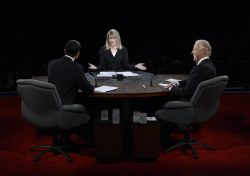 Who won the vice presidential debate? Jeff Greenfield says it was Martha Raddatz—and the voters.