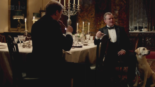 dogsbottom:  from 3x04  Fine dinner, this night. Very good.
