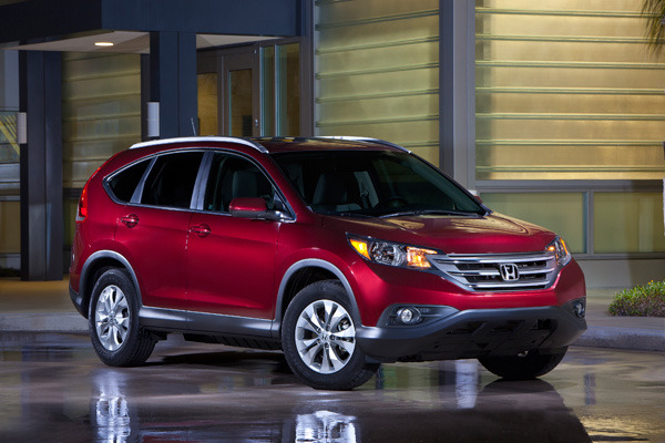 My Honda CR-V Test Drive