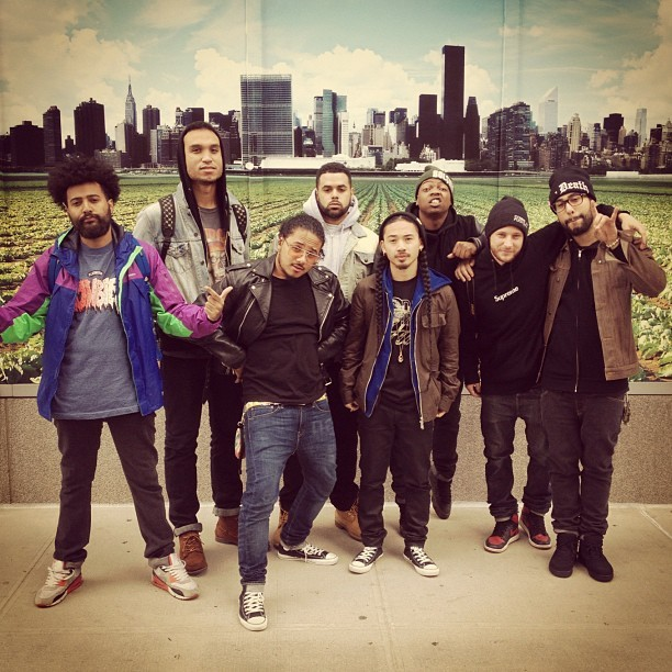 brookbobbins:  #WorldsFair #Mishka @nigelnastyl @PrinceXSamo @lanskyjones @jeffreydonna @remybanks @codybware photo via @mosaicnewyork (Taken with Instagram)