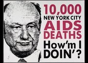 "Former Mayor Ed Koch Reviews HOW TO SURVIVE A PLAGUEA blog by Peter Staley Amazing how he fails to mention his own shameful role in this film, or this history. ————- Larry Kramer added a comment : ""What is this evil man up to as he approaches his death? Is he trying to make up to us? National Medals of Freedom from the White House! Would these provide a big enough enema to clean out his rotten insides? …"""