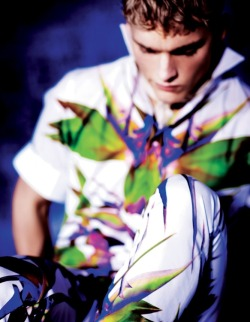 stylesight:  Nicklas Kingo by Serge Leblon for AnOther Man S/S 2012