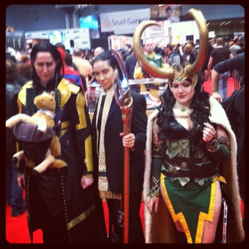LADY LOKI'D!!! #NYCC (Taken with Instagram)