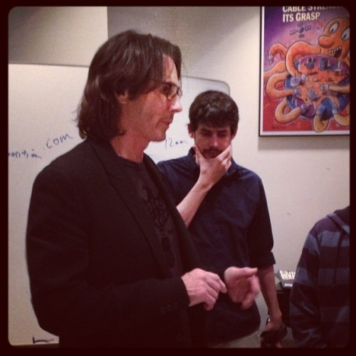 More Rick Springfield action with @danrys in the background  (Taken with Instagram)