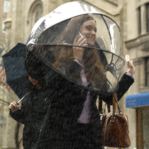 Nubrella Hands Free Umbrella(via Fancy)