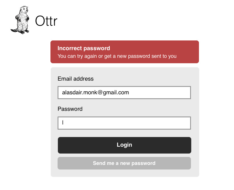 Improving the forgotten password process. Nice read by Alasdair Monk