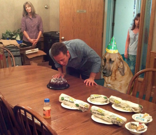uproxx:  Happy birthday, Kirk Cameron!  This is what his birthday party is gonna look like when everybody else gets left behind.