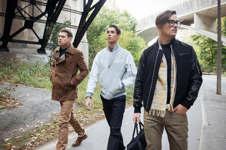 New A/W 12 Collection from the folks at OUTCLASS , full look book here