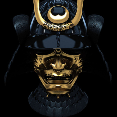 traynemusicx:  samurai mask  Follow For More Dope Blogs