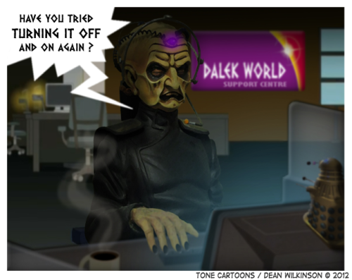 (via Day 233: Dalek World)