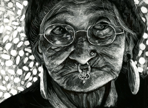 Just finished up my scratchboard for Illustration Media. :)