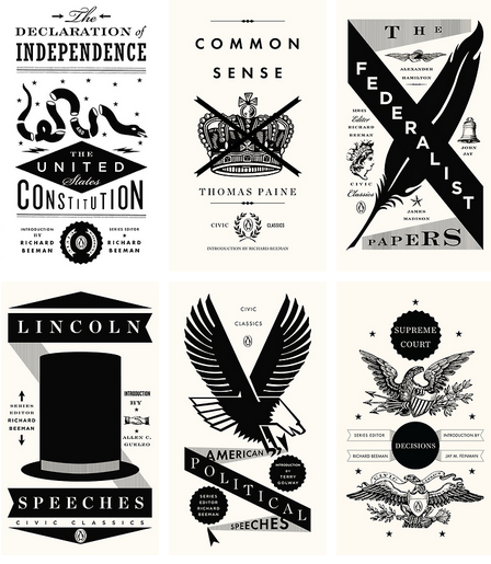 birdlord:  more superbly-designed small books by Penguin, this time American political texts.