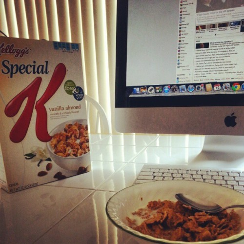 special k #almond isn't as good (Taken with Instagram)