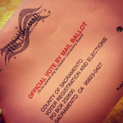 Vote! ☑ #vote #rights #voice  (Taken with Instagram)