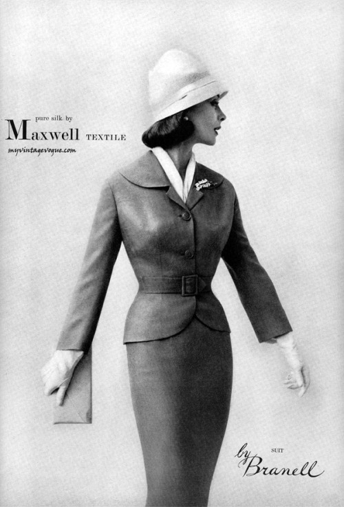 Maxwell 1957 suit by Branell