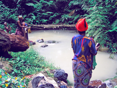 Up to 50% of rural communities in Cameroon do not have access to drinkable water. Learn more at http://thewatercollective.org