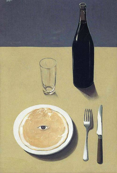 René MagritteThe Portrait 1935 oil on canvas 73.3 cm × 50.2 cm MoMA, New York City